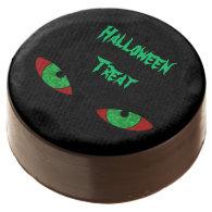 Evil Eyes Halloween Treat Chocolate Dipped Oreo