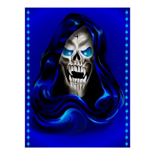 Evil Face Poster