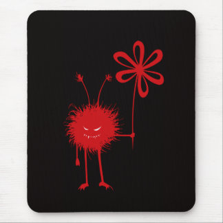 Evil Flower Bug mousepad