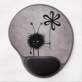 Evil Flower Bug Vintage Ergonomic Gel Mousepad