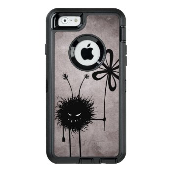 Evil Flower Bug Vintage Gothic Otterbox Defender Iphone Case by borianag at Zazzle