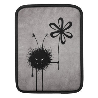 Evil Flower Bug Vintage iPad Sleeve