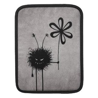 Evil Flower Bug Vintage iPad Sleeve