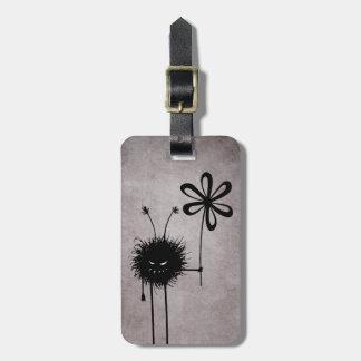 Evil Flower Bug Vintage Personalized Bag Tag