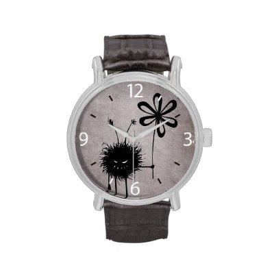 Evil Flower Bug Vintage Wristwatches