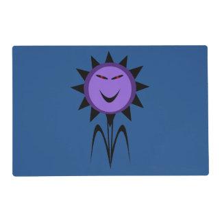 Evil Flower Kawaii Goth Halloween Custom Placemat
