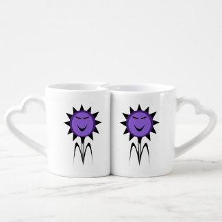 Evil Flower Kawaii Goth Halloween Lovers Mugs