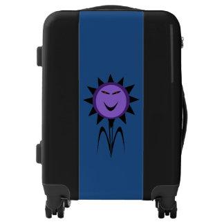 Evil Flower Kawaii Goth Halloween Suitcase Luggage