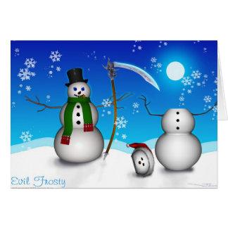 Evil Frosty (Card) Card