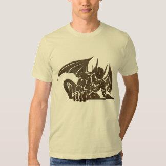 Evil Gargoyle - brown T Shirt