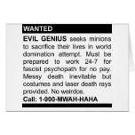 Evil Genius Ad Cards