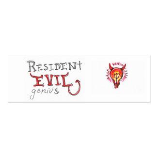 Evil Genius Business Card
