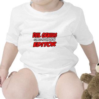 Evil Genius...Editor Baby Bodysuit