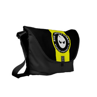 Evil-Genius Global Rickshaw Messenger Bag