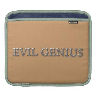 Evil Genius iPad Sleeves