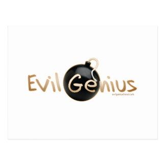 Evil Genius Logo Postcard