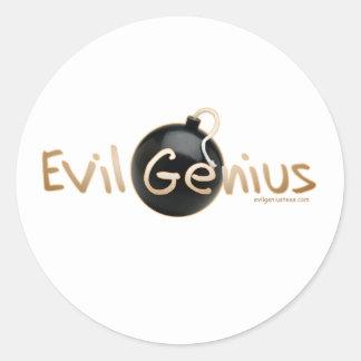 Evil Genius Logo Sticker