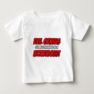 Evil Genius...Microbiologist Baby T-Shirt