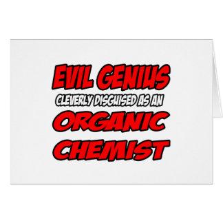 Evil Genius...Organic Chemist Cards