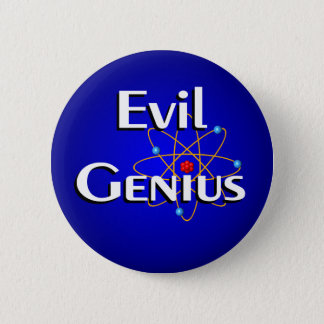 Evil Genius Pinback Button