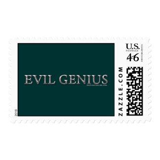 Evil Genius Stamp