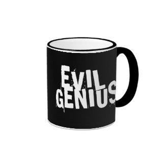 EVIL GENIUS RINGER COFFEE MUG