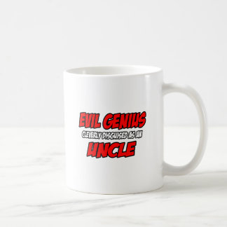 Evil Genius...Uncle Classic White Coffee Mug