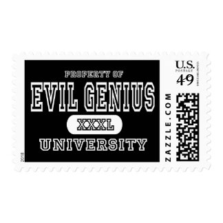 Evil Genius University Dark Postage
