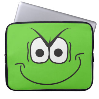 Evil Genius Villain Smiley Face Laptop Sleeve