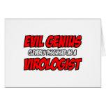 Evil Genius...Virologist Card