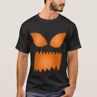 Evil Glowing Jackolantern Face Shirt