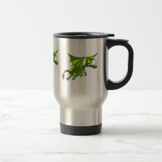 Evil green Dragon Mugs