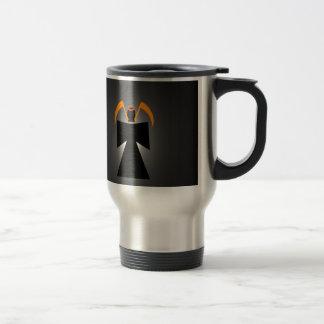Evil grim reaper death travel mug