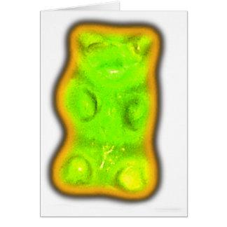 Evil gummy bear card