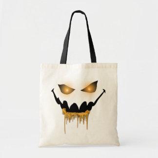 Evil Halloween Eyes Halloween Treat Bag