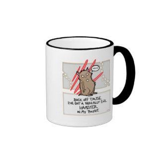 Evil Hamster! Ringer Mug