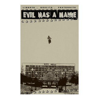 evil has a name poster