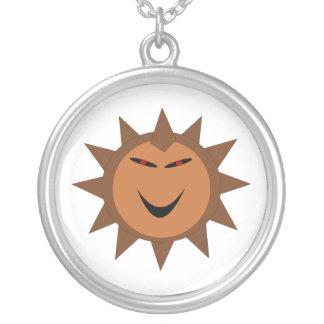 Evil Hedgehog Kawaii Goth Halloween Necklace