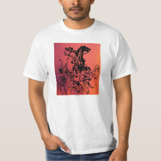 Evil Horse Rider and Kids T-Shirt