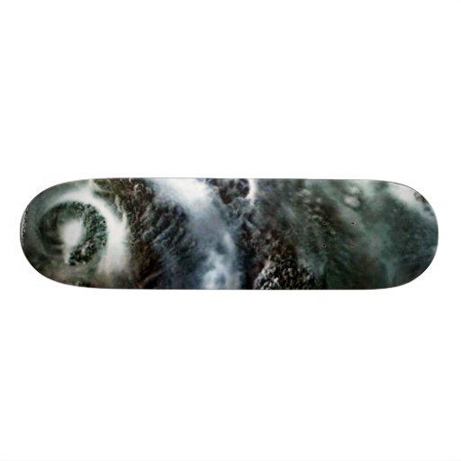 Evil Hurricane Eye& Bands Skate Boards