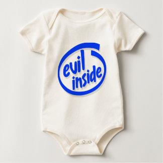 Evil Inside Baby Bodysuit