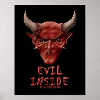 Evil Inside Poster