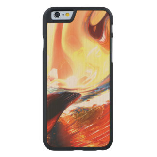 Evil Intent Abstract Carved Maple iPhone 6 Case