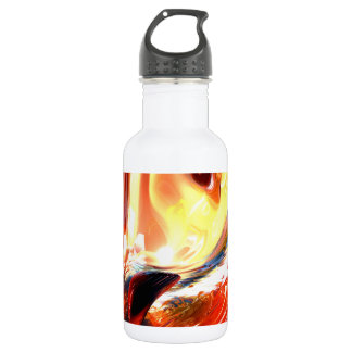 Evil Intent Abstract 18oz Water Bottle
