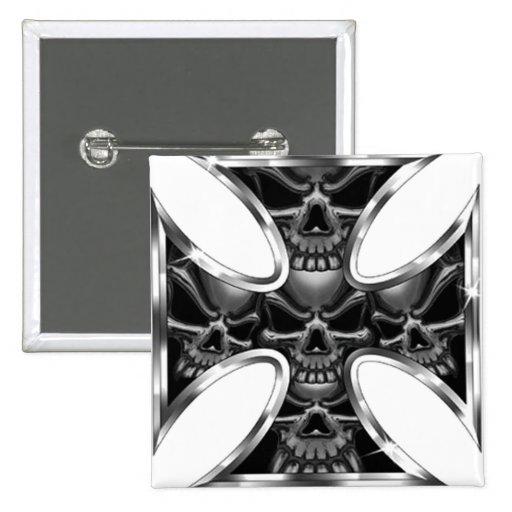 Evil Iron Cross Buttons
