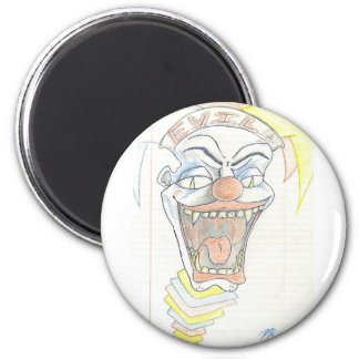 Evil Jack in the box  Klown Magnets