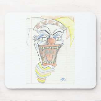 Evil Jack in the box  Klown Mouse Pad