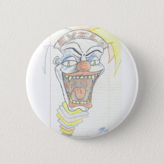 Evil Jack in the box  Klown Pinback Button