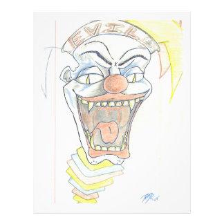 Evil Jack in the Box Letterhead
