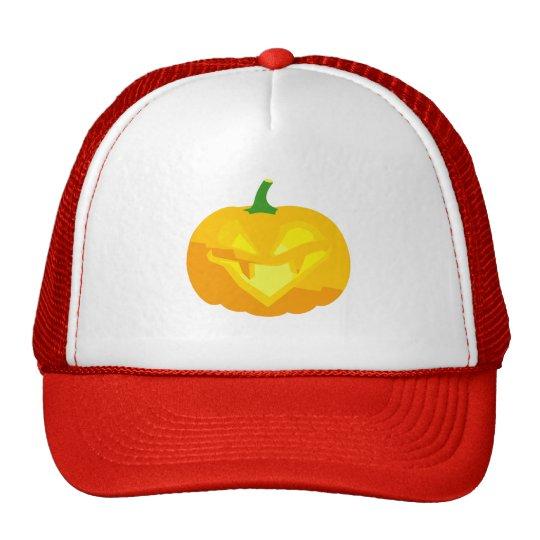 Evil Jack-O-'Lantern Trucker Hat